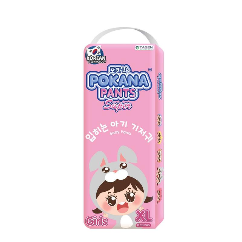 Pokana Diaper Pants Girl XL 22S