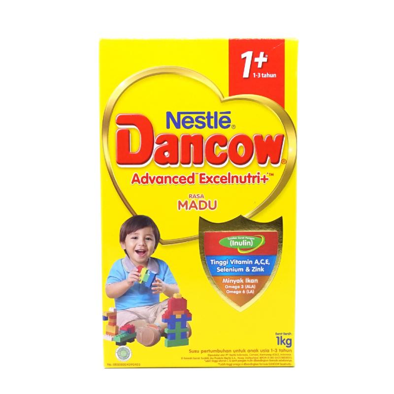Dancow Susu Bubuk 1+ Excel+ Madu Box 1000Gr