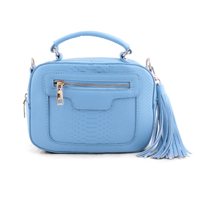 AliveLoveArts Isabel Hand-Sling Bags Blue