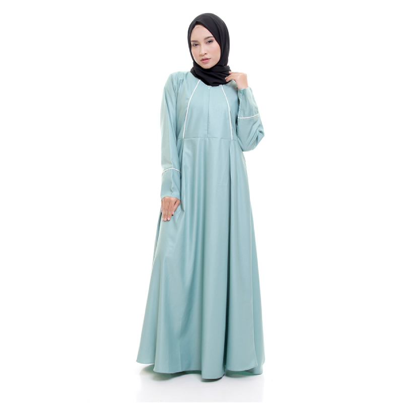 ALLEV Fatin Dress Hijau