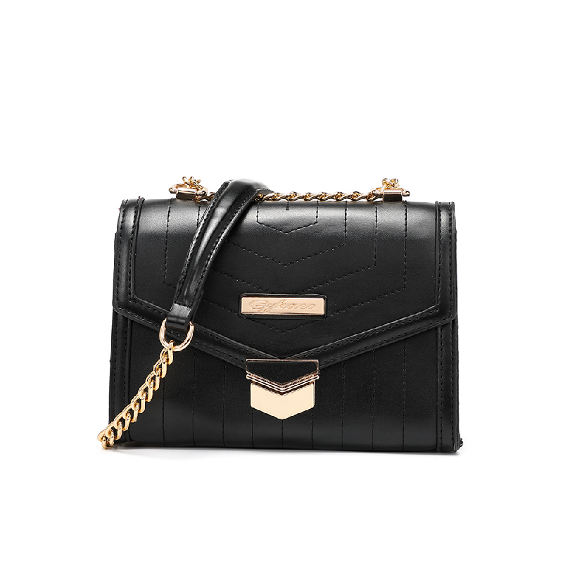 GYKACO Tas Selempang Wanita - Athena-Black - Fashion Sling bag (Import)