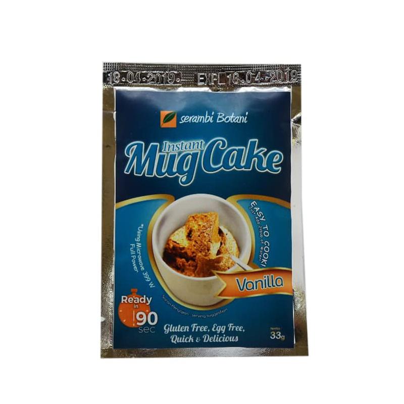 Instant Mug Cake Vanilla 33 gr