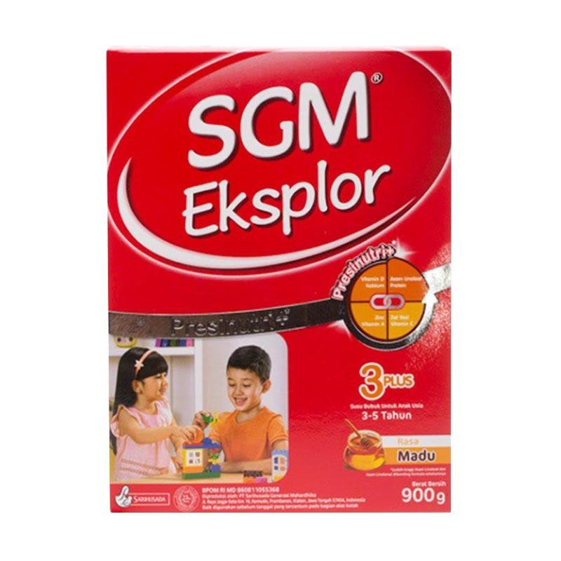 SGM Powder Milk Eksplor 3+ Madu Box 400G