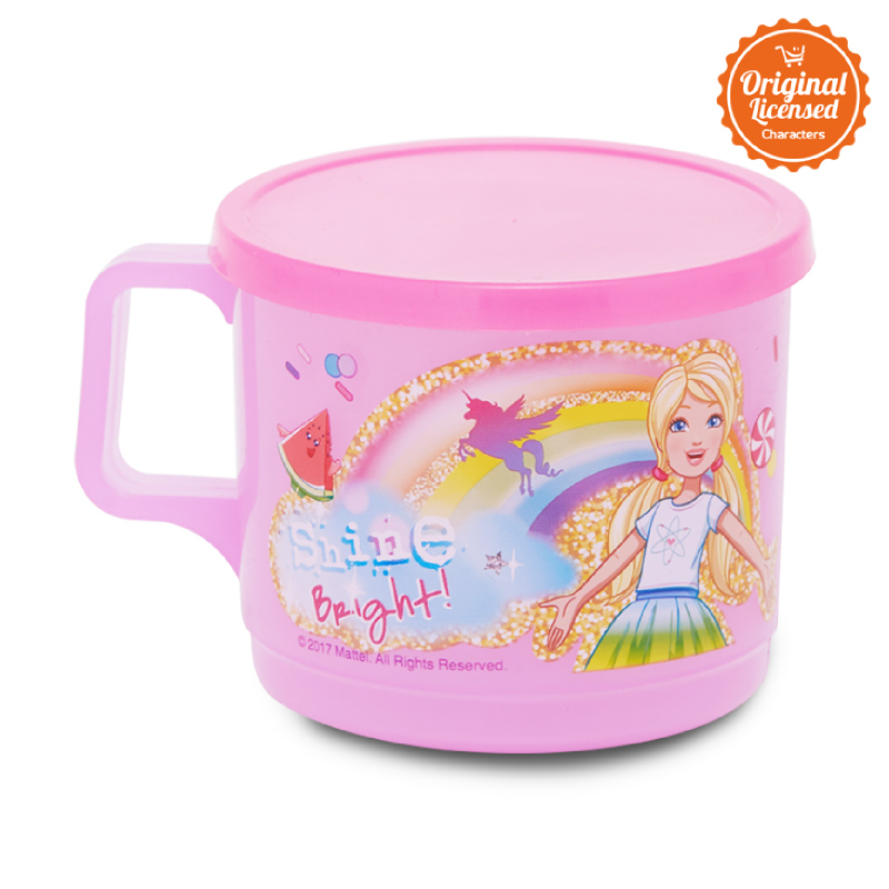Barbie Cup With Cover