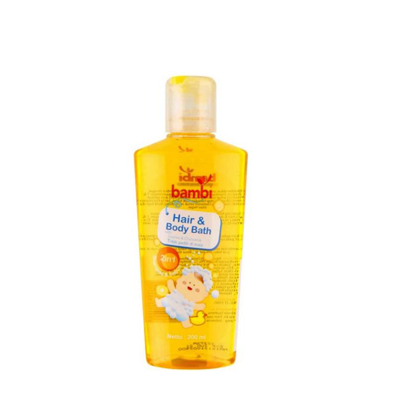 Bambi Baby Hair & Body Bath 200 Ml