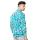 Agrapana Batik Lengan Panjang Muscle Fit 105.22.858.03.Biru