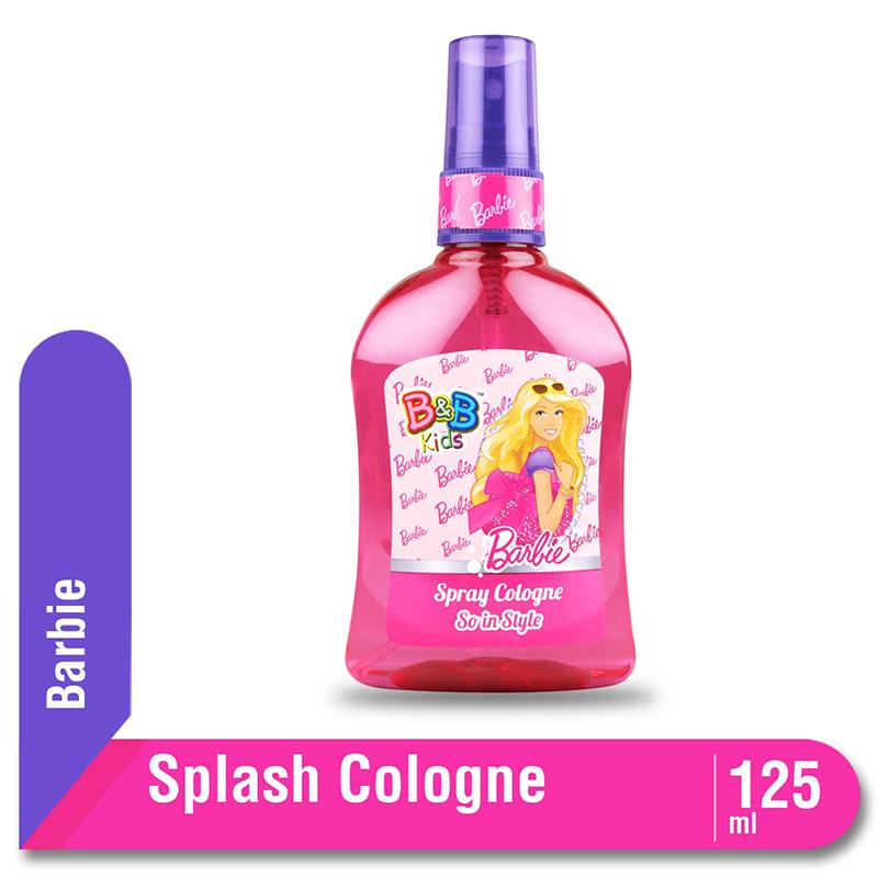 B&B Kids Barbie Spray Cologne So In Style 125 Ml