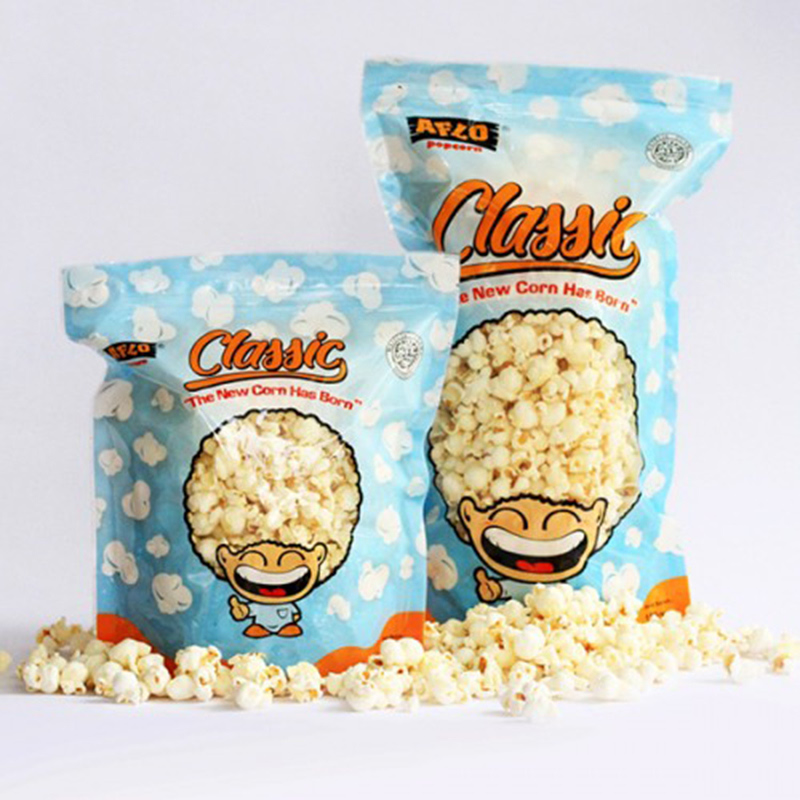 Alfo Popcorn - Aflo Classic Original 100 gr (isi 2 Pack)