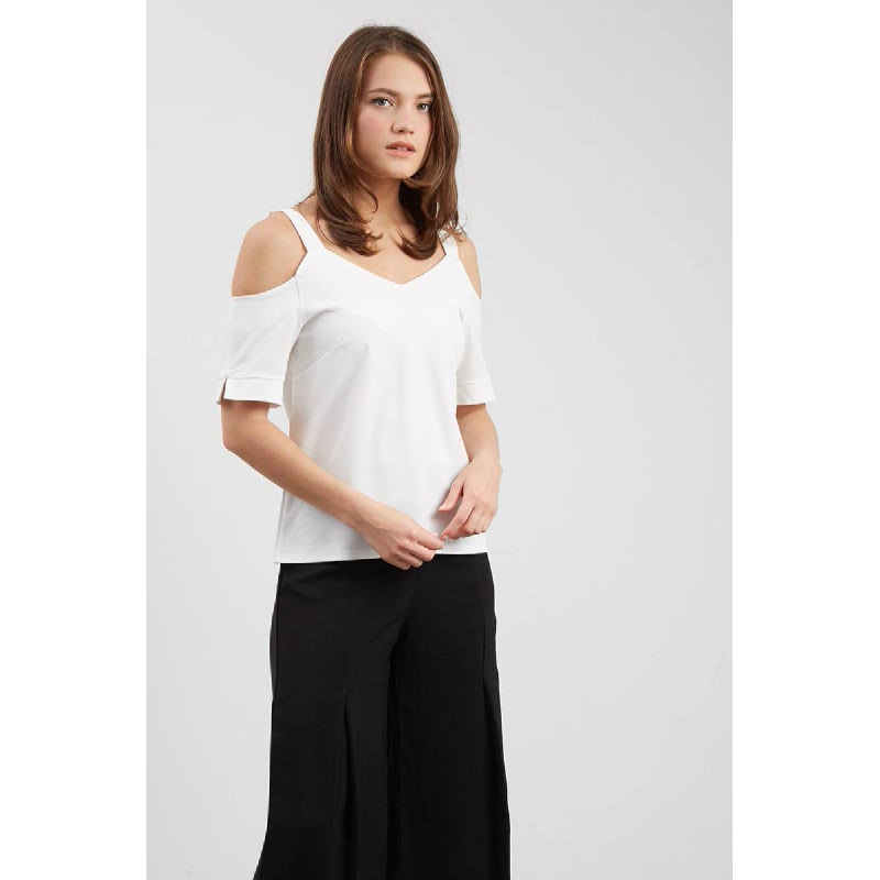 Francois Werther Top in White
