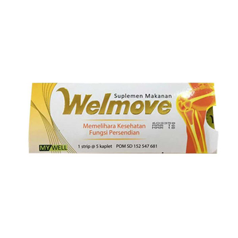 Welmove Suplemen Makanan Strip 5S