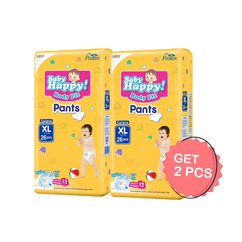 Baby Happy Diaper Pants XL 26S (Get 2)