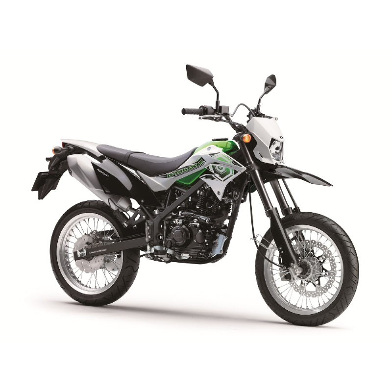 Kawasaki Dtracker 150 Sepeda Motor - Hijau (detabekser) (VIN 2017)
