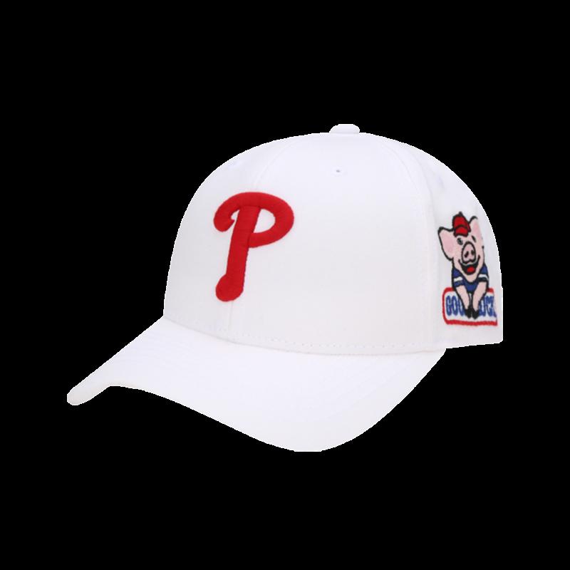 MLB Philadelphia Phillies Happy New Year Lucky Pig Adjustable Cap White
