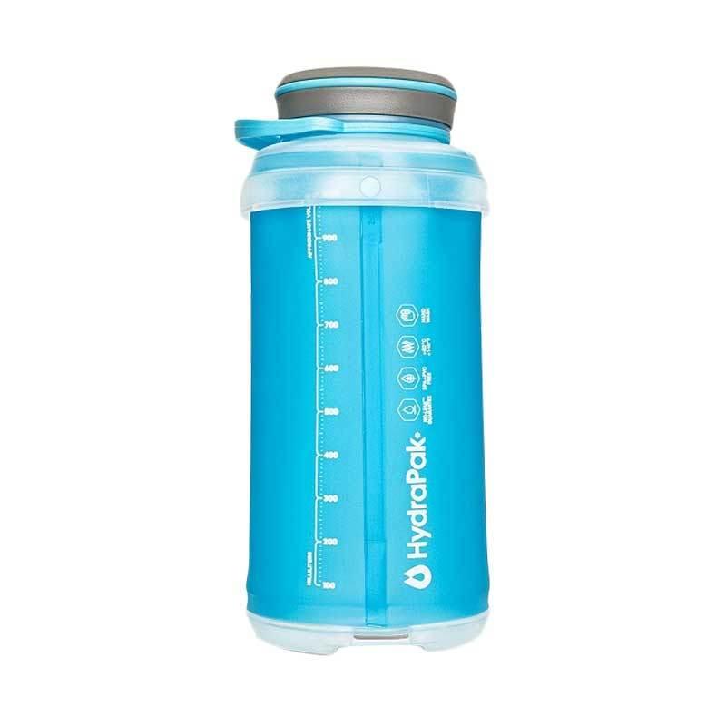 Hydrapak Stash 1Liter - Botol Minum Lipat Blue