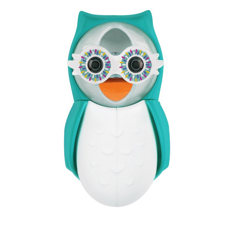 Flipper Toothbrush Cover - Owl Smarty Blue