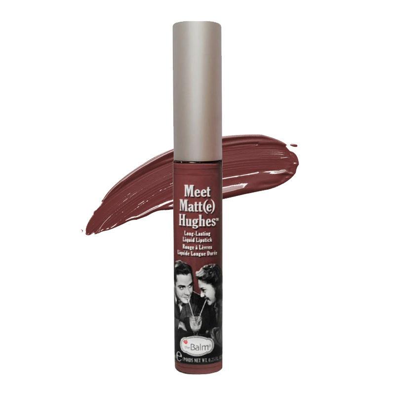 The Balm Meet Matt(e) Hughes Long Lasting Liquid Lipstick Charming