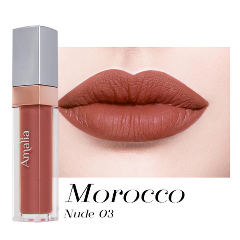 Amalia Matte Lip Cream Morocco Nude 03