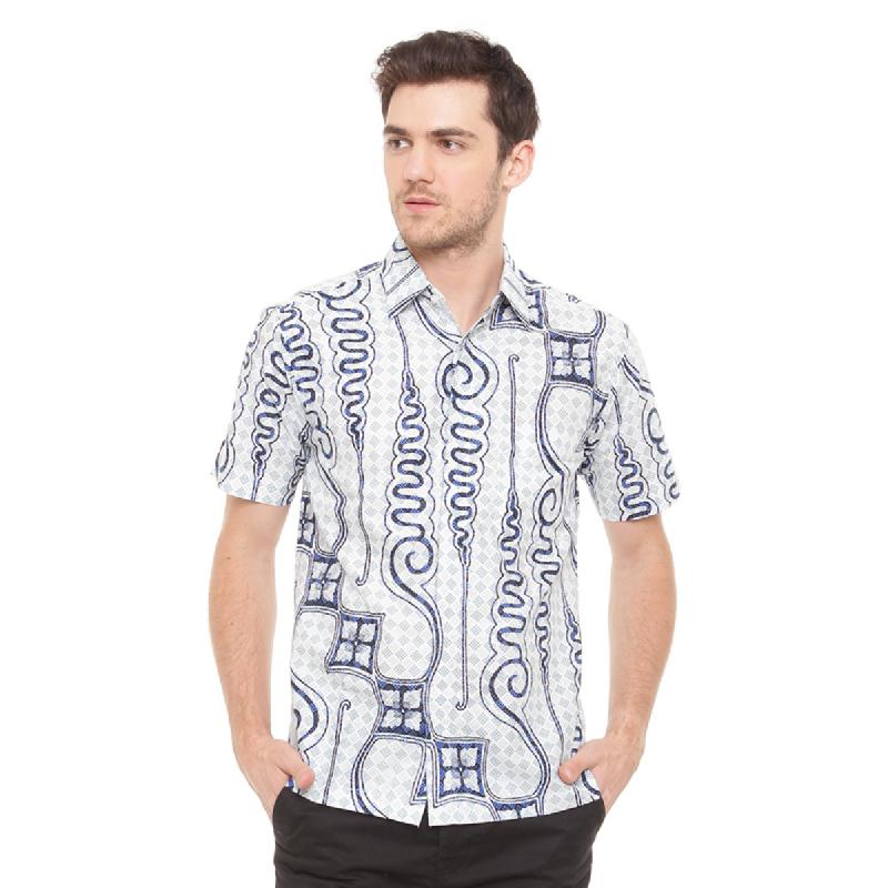 Agrapana Batik Lengan Pendek 101.01.169.1.1.Biru