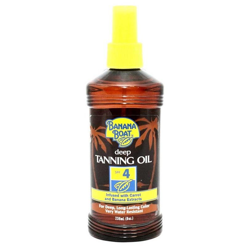 Banana Boat Deep Tanning Oil Spf 4 236Ml