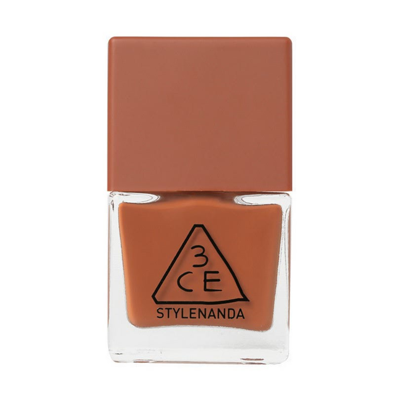 3CE Mood Recipe Long Lasting Nail Lacquer - BR07 Warm Yellow Brown