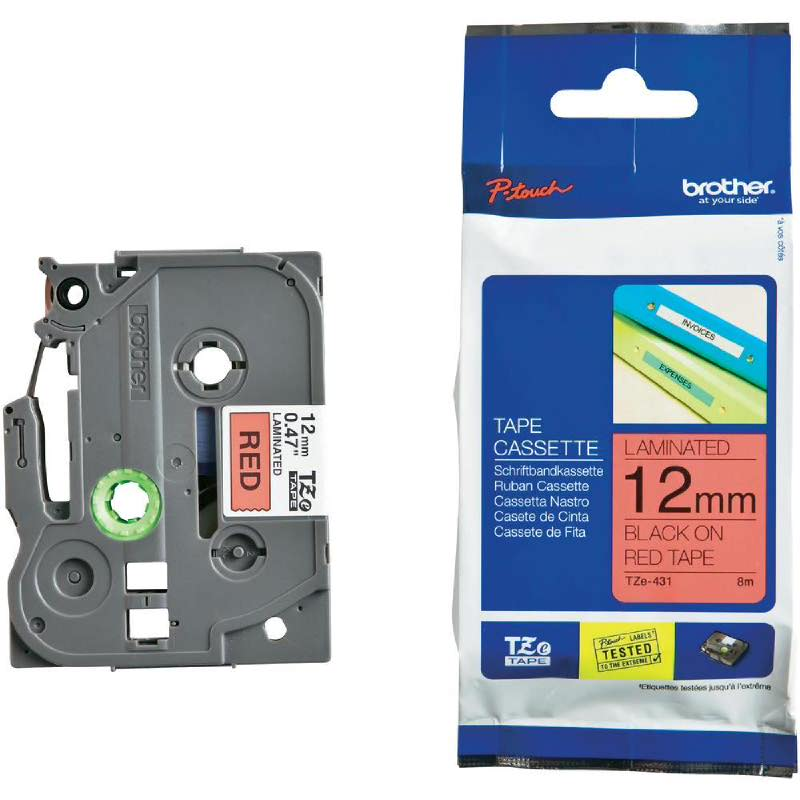 Brother Color Tapes 9MM TZE-431
