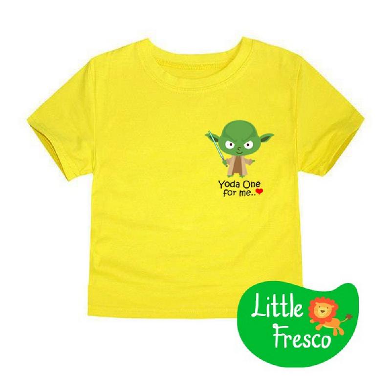 Little Fresco - Kaos Anak Yodaone Kuning