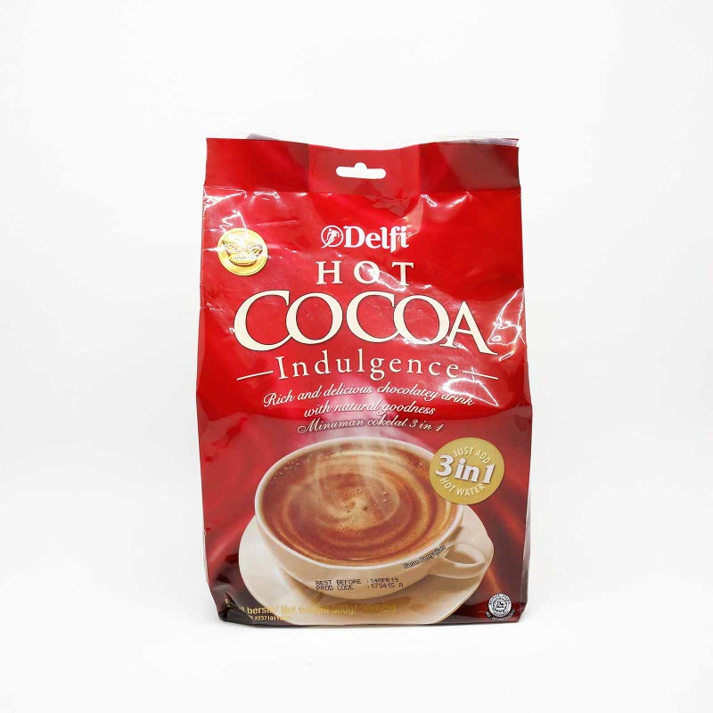 Delfi Hot Cocoa Pbg 20x25 Gr
