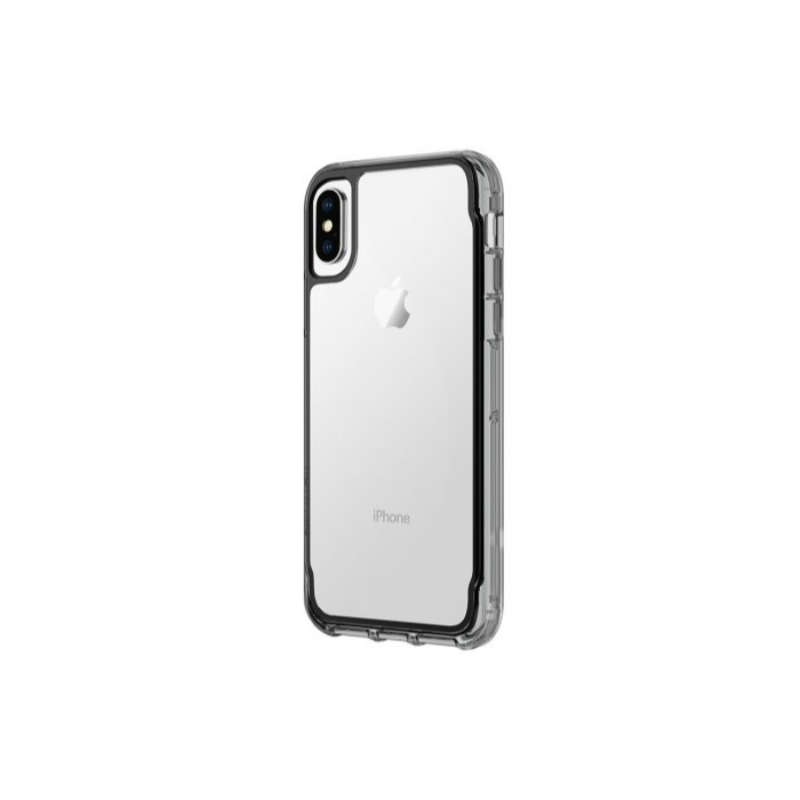 Griffin Survivor Clear for iphone X - Black and Smoke and Clear Color (GB43611)