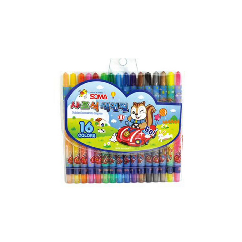 Alpha Colored Pencil 16 Colors - Blue