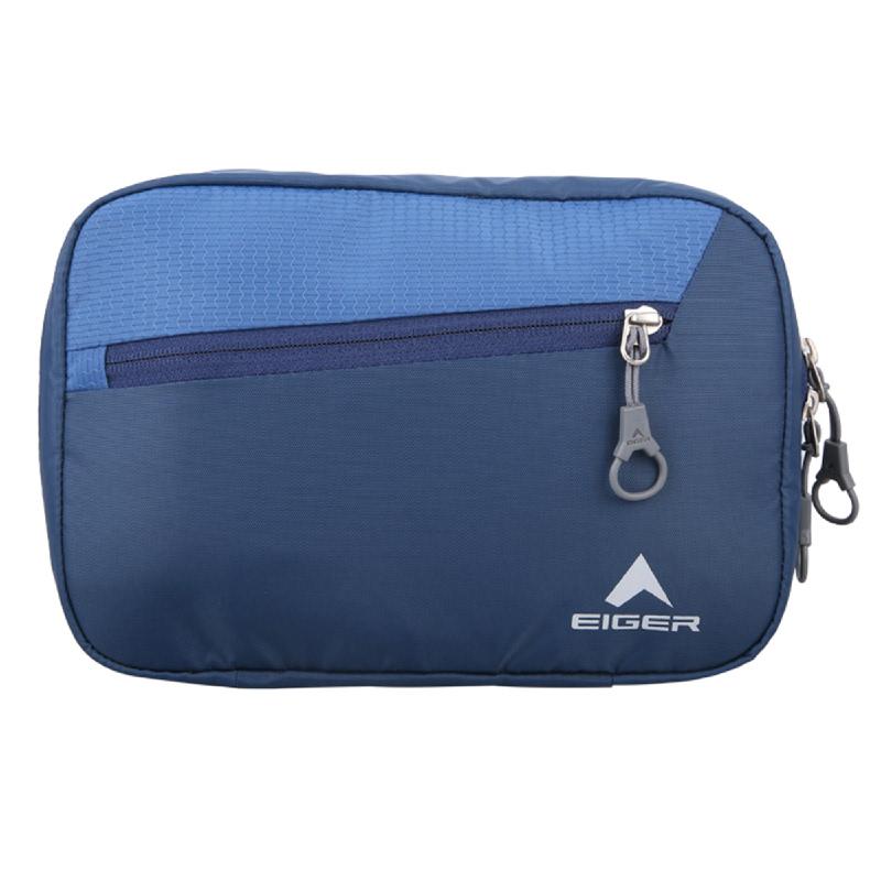 Eiger Pivot Toiletries Bag - Blue