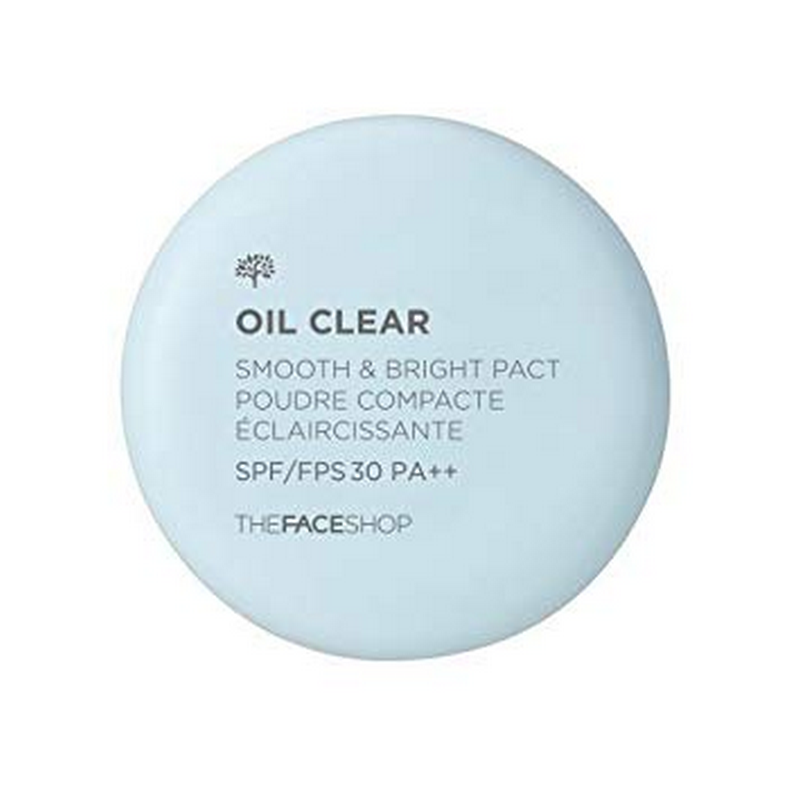 The Face Shop Oil Clear Smooth and Bright Pact SPF30 PA++ No. 203