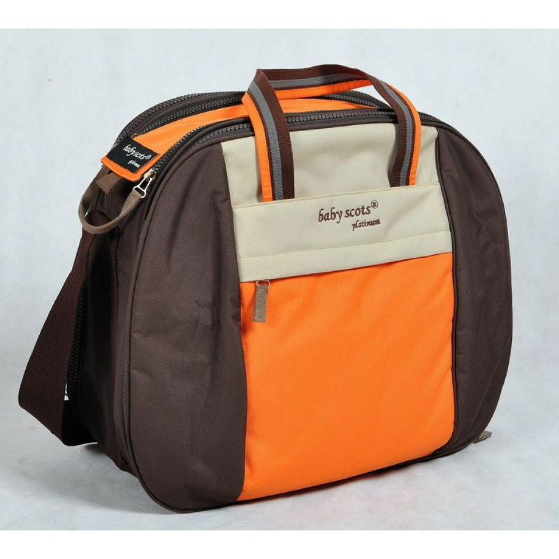 Baby Scots Platinum Scots Mommy Bag 004MB004 Orange