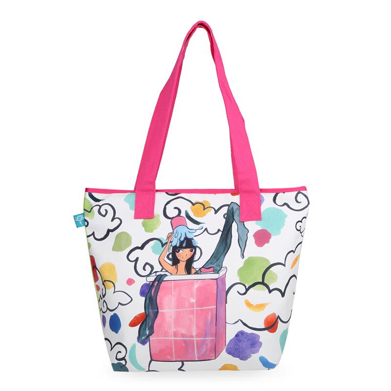 Kamalika Art Prints Tote Bag BagsBidadariHijau