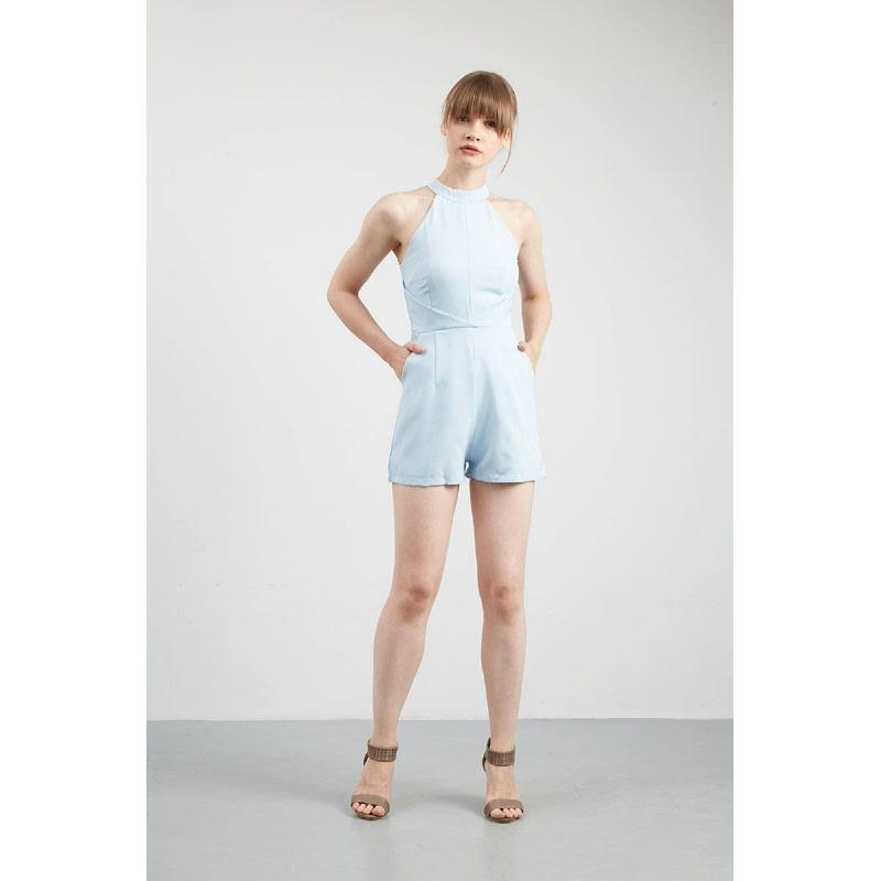 Gwen Kaiser Playsuit in Blue