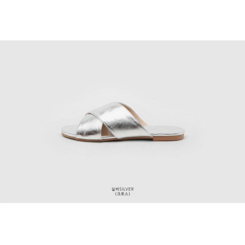 SAPPUN Kamishu Daily Slipper (1cm) - Silver