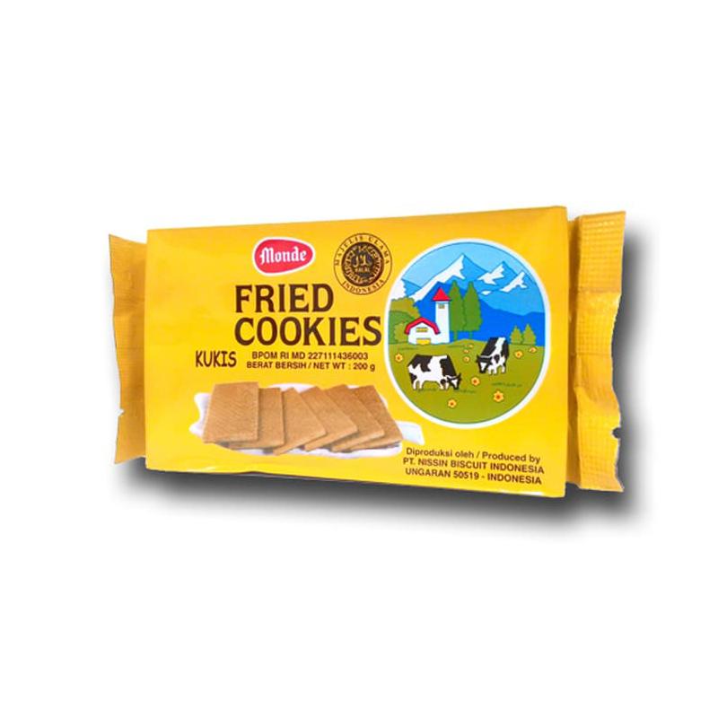 Monde Fried Cookies 200 gr