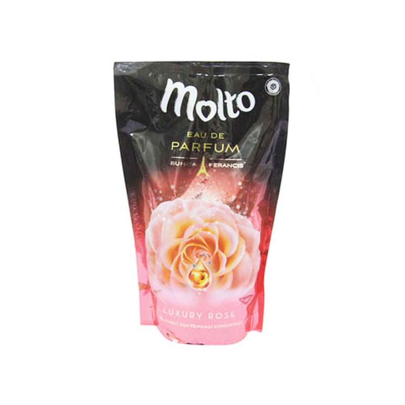Molto Pelembut & Pewangi Edp Pink Luxury Rose 800 Ml