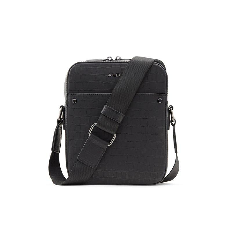 Aldo Mens Cross Body Bags POANI-007-007 Black