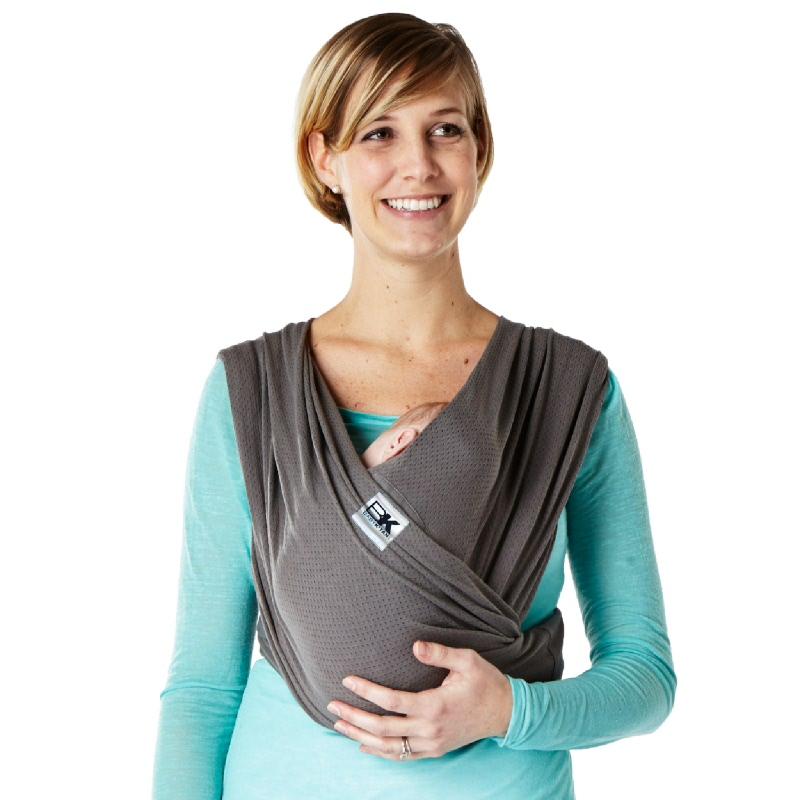 Baby Ktan Baby Carrier Charcoal Breeze-Size XXS