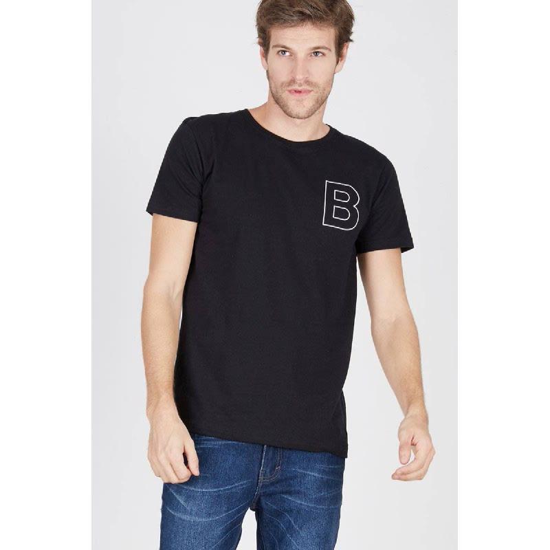 Men T-Shirt Doctor B Black