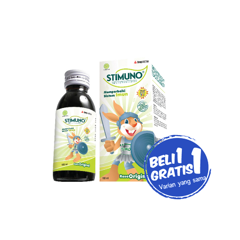 Stimuno Syrup Tuty Fruity 100Ml (Buy 1 Get1 )