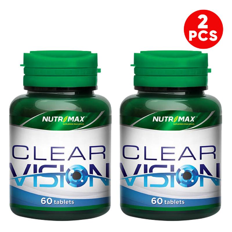 Buy 2 Bottle Nutrimax Clear Vision 60 Tablet