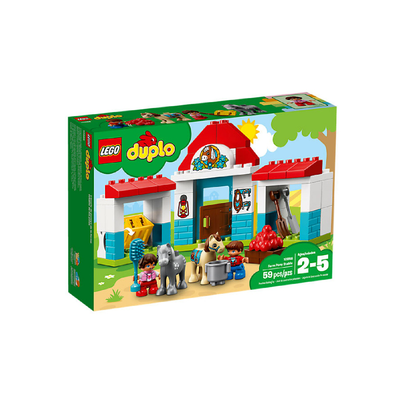 LEGO® DUPLO® Farm Pony Stable 10868