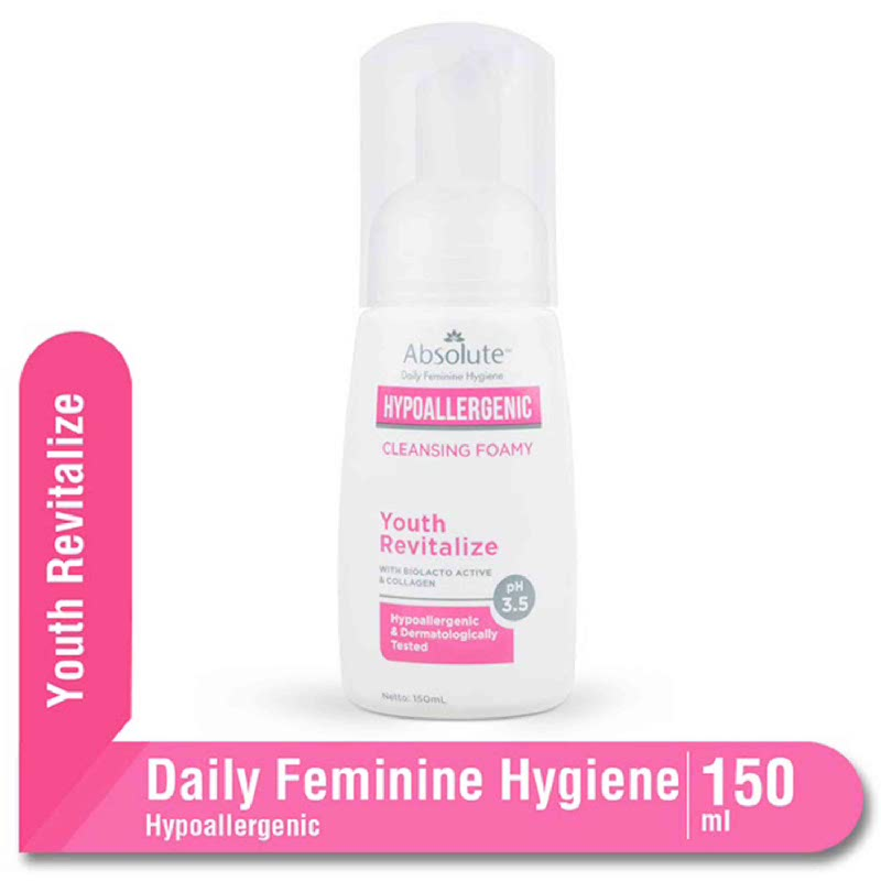 Absolute Hypoallergenic Cleansing Foamy Youth Revitalize 150ml