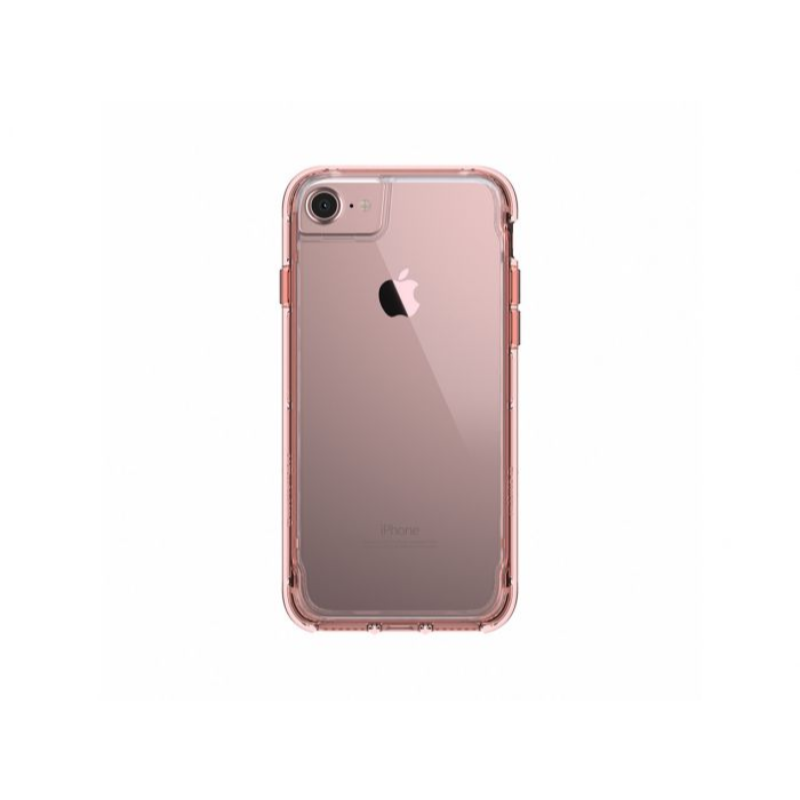Griffin Survivor Clear For iPhone 7, 6S, 6 in Rose Gold and Clear Color and Clear Color [GB42313]