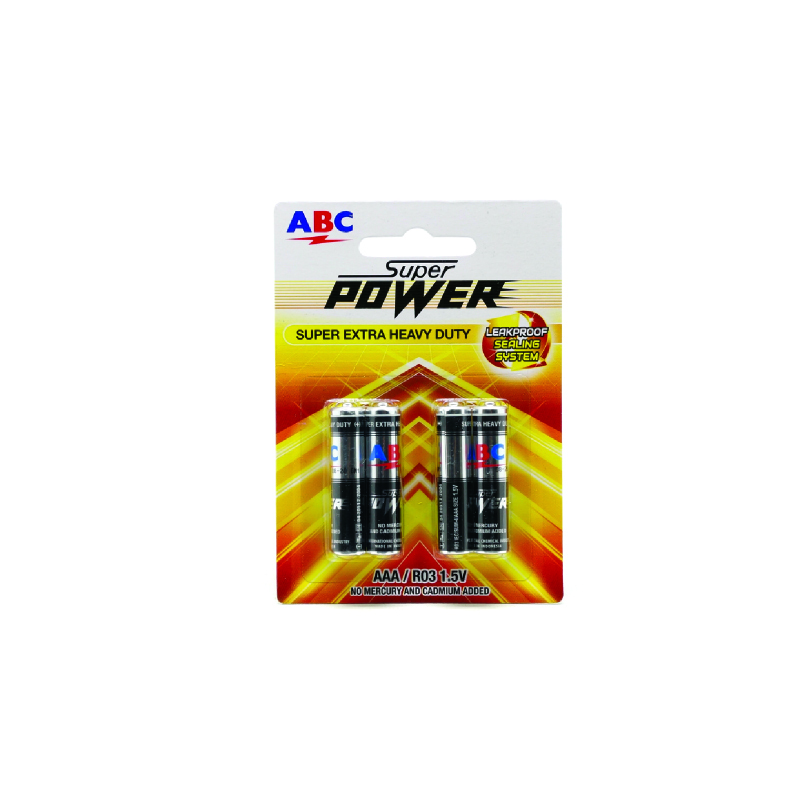 Abc Battery Super Power R-03 Rcg-48