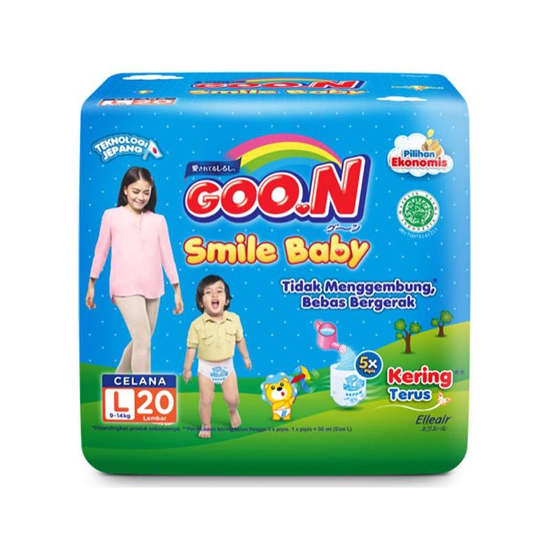 Goo.N Smile Baby Diaper Pants L 20S