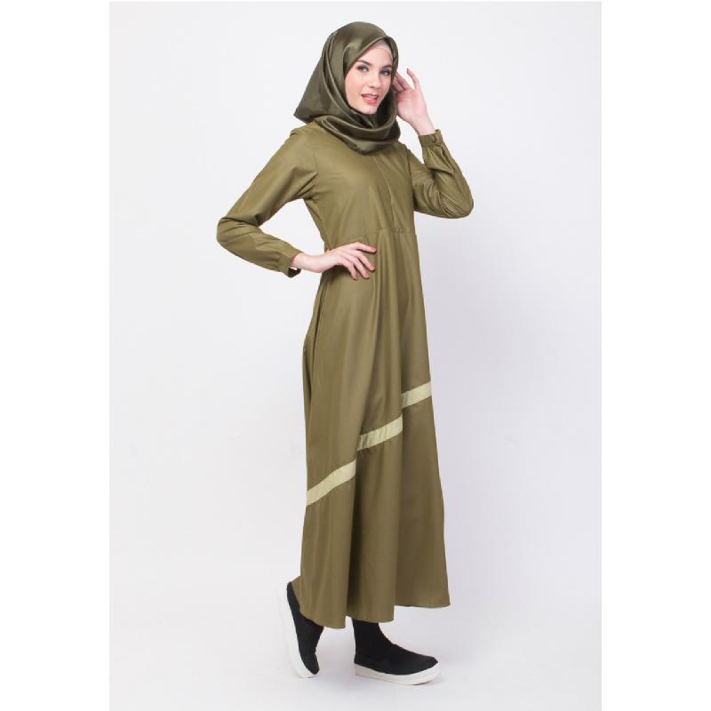 ALLEV Noor Dress HijauSedang
