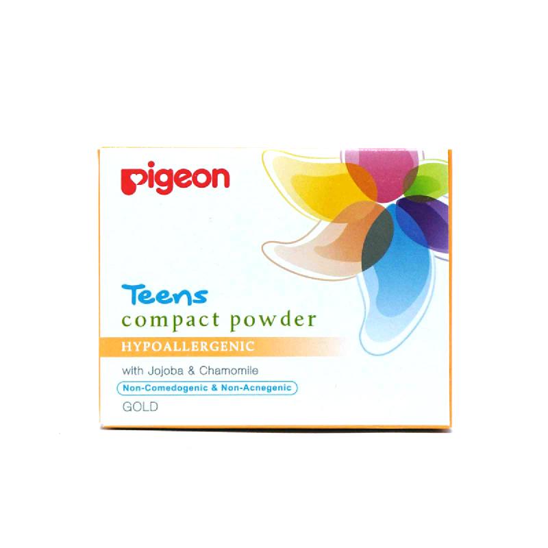 PIGEON COMPACT POWDER HYPOALLERGENIC GOLD 14 GR