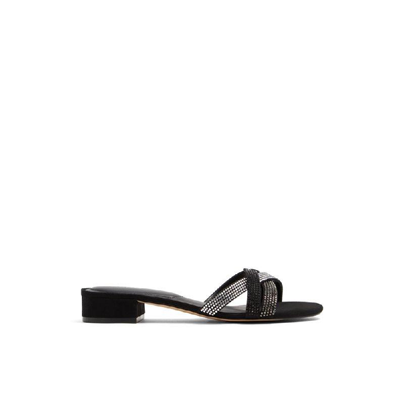 Aldo Ladies Sandals Poclya 001 Black
